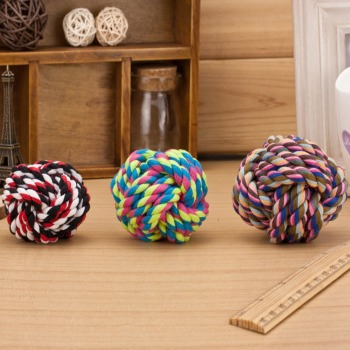 Colorful Wool Dog Ball available in 3 Sizes