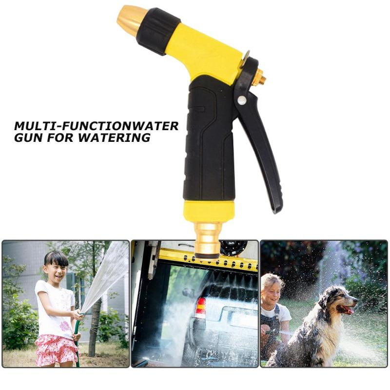 Multi-function Garden Water Gun For Watering Lawn Hose Spray Water Nozzle Gun Car High Quality Plastic Water Gun Sprinkle Tools