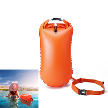 8.5L Swimming Airbag Storage Bags Dry Sack Waterproof Bag For Swimmer PVC Lifesaving Float Safety Equipment