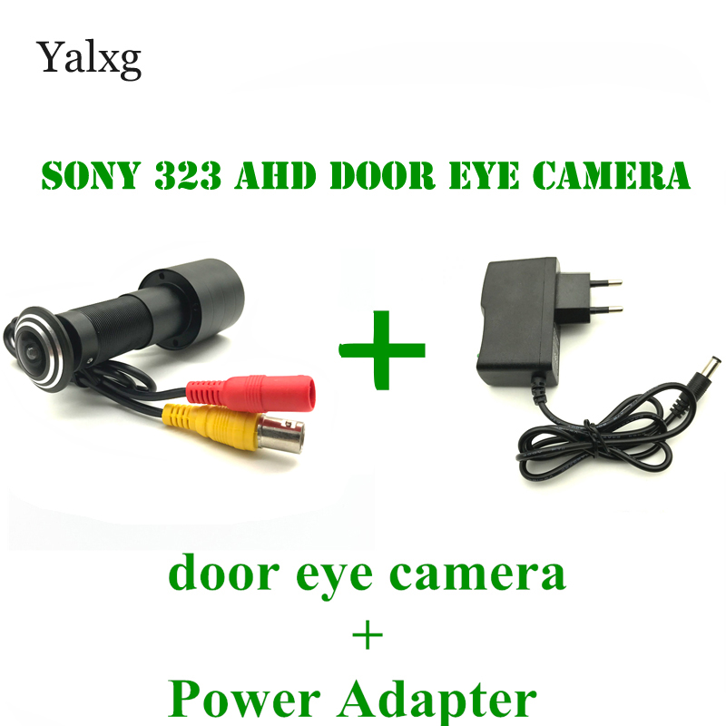 2.0M 1080P Door Eye HD AHD Peephole CCTV Color Camera SONY IMX323 Sensor 0.0001 Lux 170 Degrees Video Cat Eye Security Camera