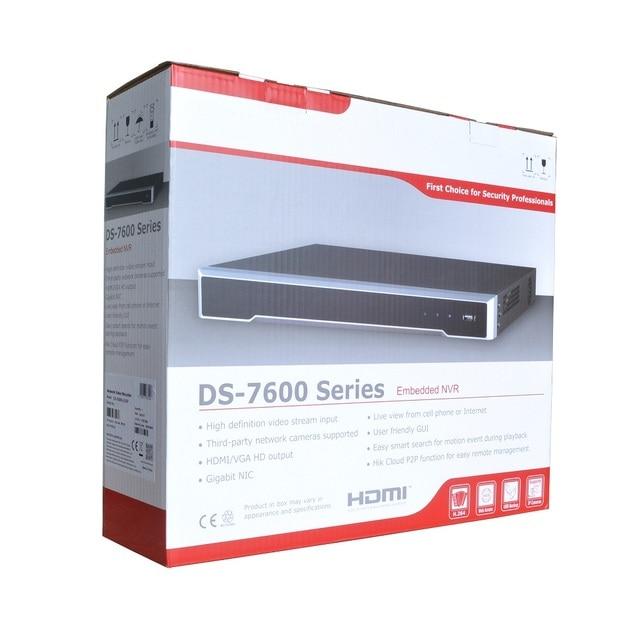 HIK International DS 7616NI K2/16 P 4K NVR для ip камеры CCTV сетевой видеорегистратор Поддержка Onvif Protocal
