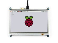 Здесь можно купить   Waveshare 7inch HDMI LCD 1024 * 600 Resistive Touch Screen LCD HDMI interface Designed for any revision of Raspberry Pi Computer Peripherals