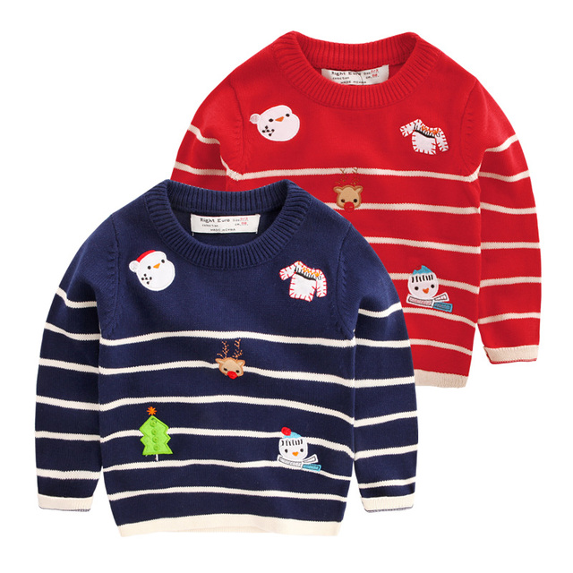 Ugly Christmas Sweater Baby Boy Clothes Toddler Sweater Boys Winter
