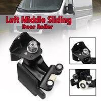 N/S Left Middle Sliding Car Door Roller Guide For Fiat For Ducato For Peugeot Boxer For Citroen Relay 2006 2012 Black