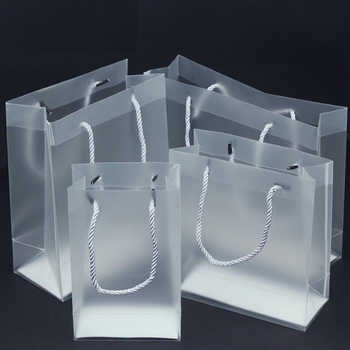100pcs/lot 7 Size high quality waterproof transparent PVC bag Transparent gift tote bag PVC plastic bags - DISCOUNT ITEM  8% OFF All Category