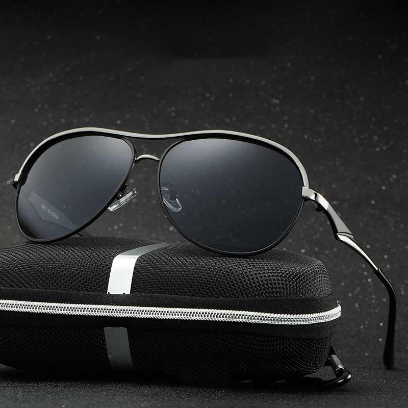2017 font b New b font Fashion Men s UV400 HD Polarized Coating Sunglasses Men Driving