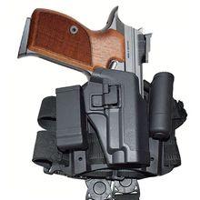 High Quality FS CQC Polymer Quick Drop Leg Holster Tactical Thigh for SIG P226 Gun Right Hand Carry Black