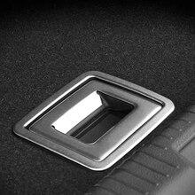 ل Volkswagen جولف 7 2014 الفولاذ المقاوم للصدأ سيارة التصميم سيارة الجذع مقبض الإطار الترتر اكسسوارات السيارات الترتر 2 قطعة سيارة التصميم
