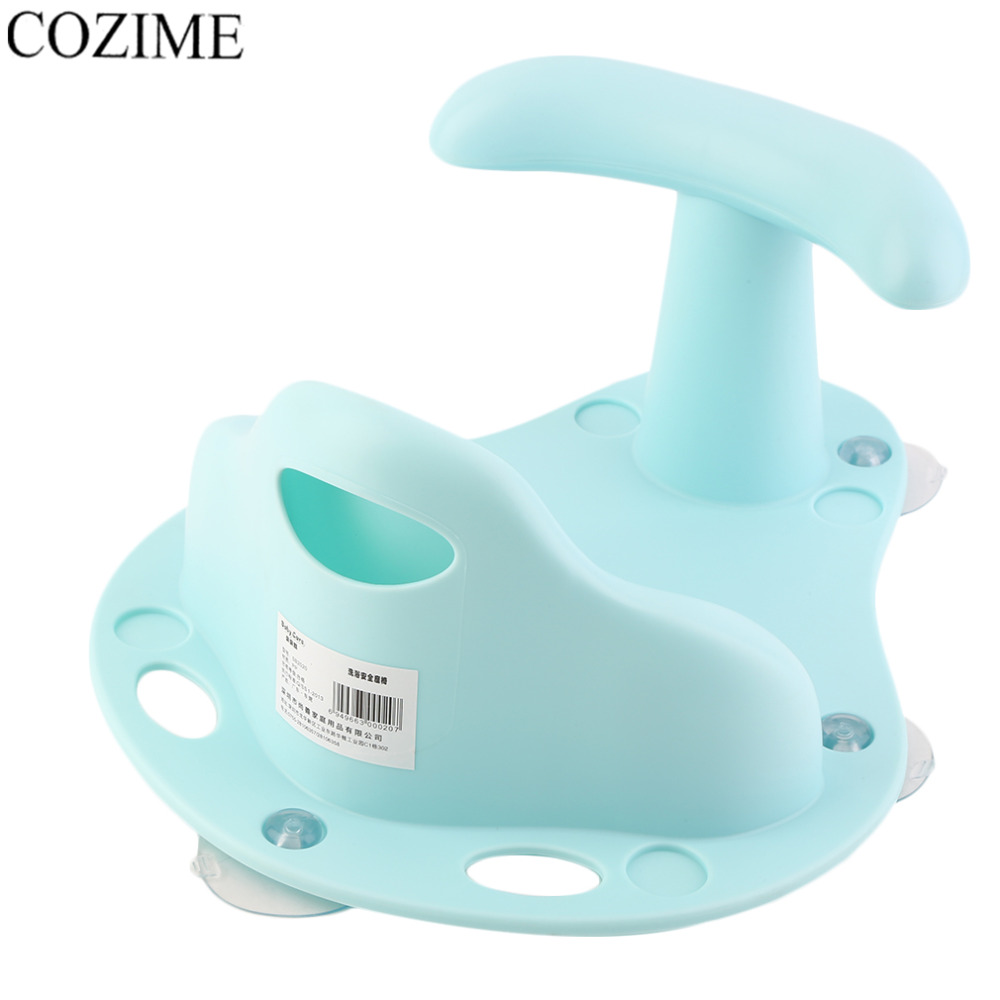 Newborn Baby Bathtub Ring Seat Infant Anti Slip Safety Chair Kids ...