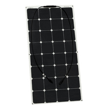 100W ETFE semi- flexible solar panels solar module for RV/Boat/Golf cart/Marine/Yachts/Home use