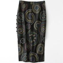 2018 New Fashion Genuine Sheep Leather Skirt H1