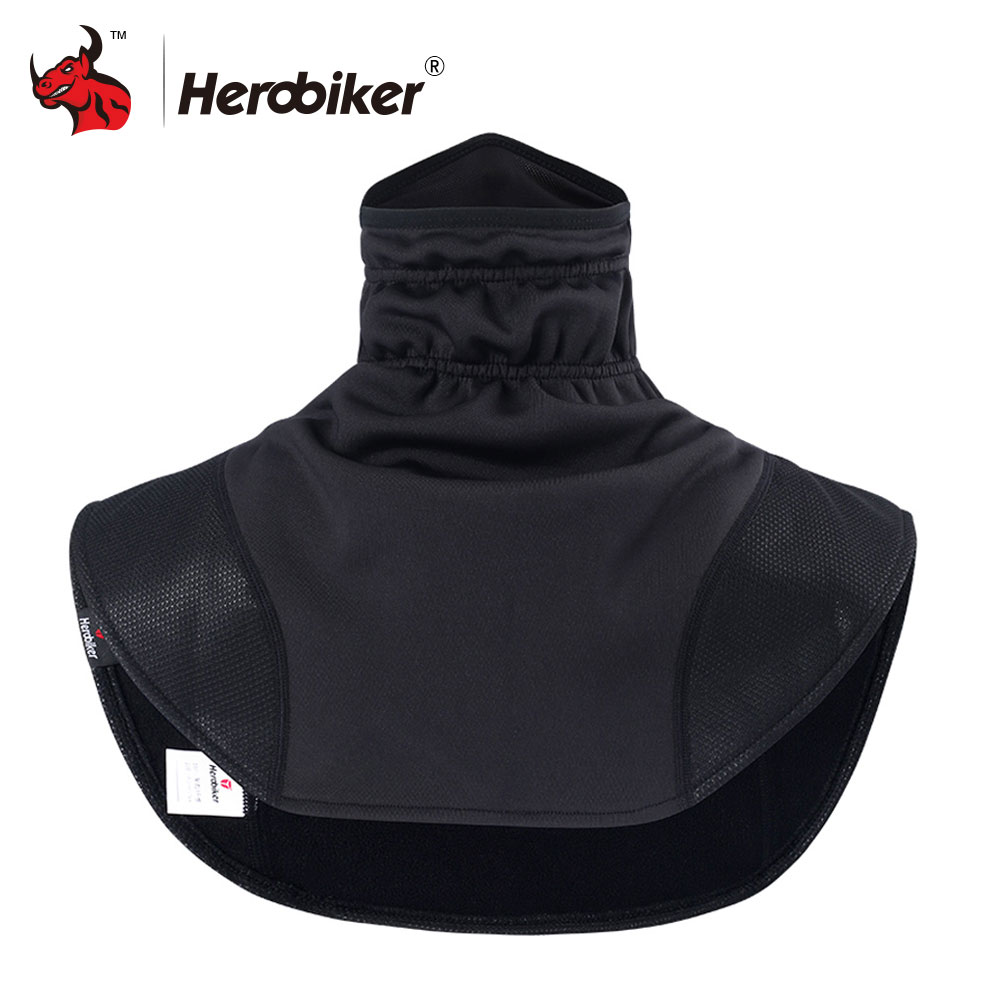 HEROBIKER Motorcycle Thermal Balaclavas Scarf Motorcycle Headwear Neck Fleece Caps Scarf Balaclava Windproof Warm Moto Mask herobikermotorcycle face mask balaclava motorcycle neck warmer motorcycle ski caps bicycle scarf moto mask mascara moto