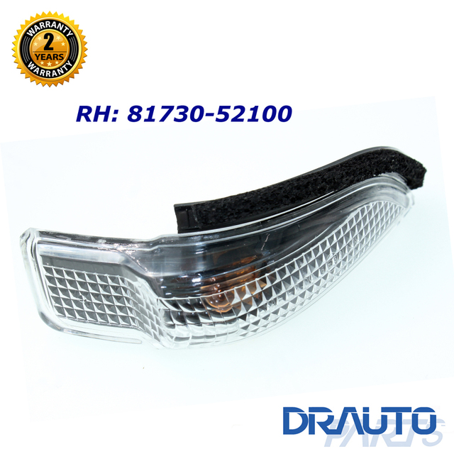 Right Side Mirror Signal Lamp Indicator For Toyota Corolla
