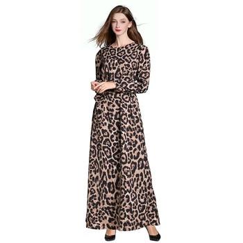 Muslim ramadan Womens Abaya Islamic Clothing  Polyester Middle East