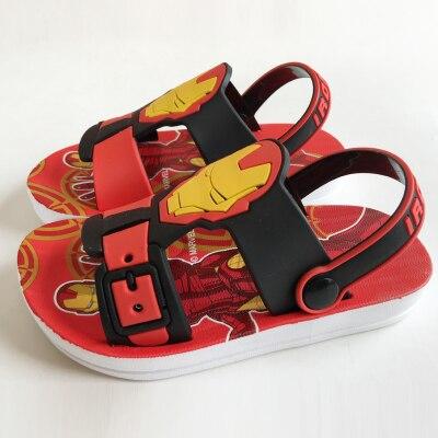 летние детские сандалии прохладный паук дети обувь мальчиков спортивные кроссовки случайные сандалии железный человек капитан америка моды