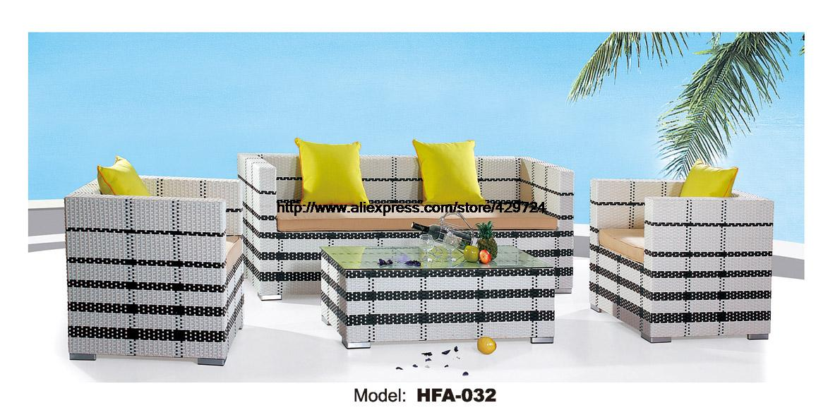 Modern Black White 123 Sectional Rattan Sofa 2 Chair Sofa Coffee Table Set Outside Garden Health Rattan Vine Furniture HFA032 circular arc sofa half round furniture healthy pe rattan garden furniture sofa set luxury garden outdoor furniture sofas hfa086