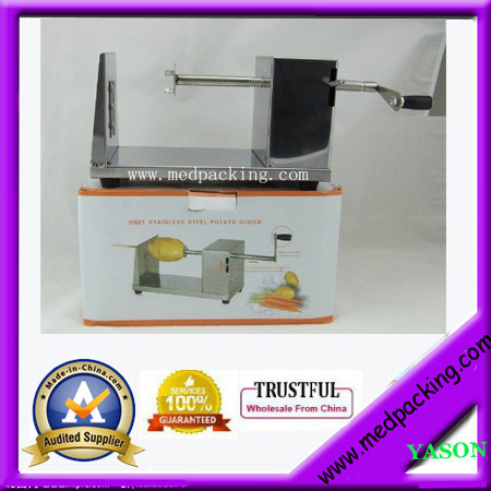ФОТО Hot Sale Worldwide Manual Twist Potato Machine YS-BL