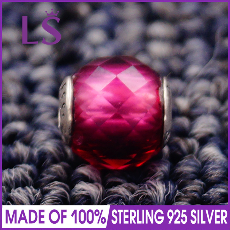 LS High Quality 100% 925 Silver Essence Happines Charm Beads Fit Original Essence Bracelets Bangles Real Fine Jewlery