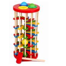 Моделирование гусеницы Едит яблоко Монтессори материалы деревянные игрушки раннего образования детей с Bringht познавательные цвета