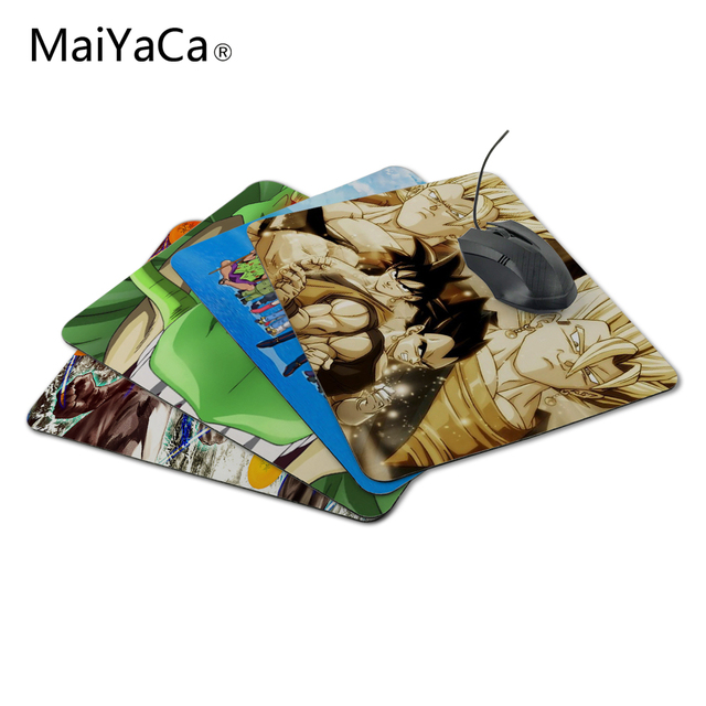 ab27ddb70a397 MaiYaCa Hot Sale Japanese Anime Dragon Ball Game Mat to Mouse Custom Print  Durable Gaming Mouse Pad