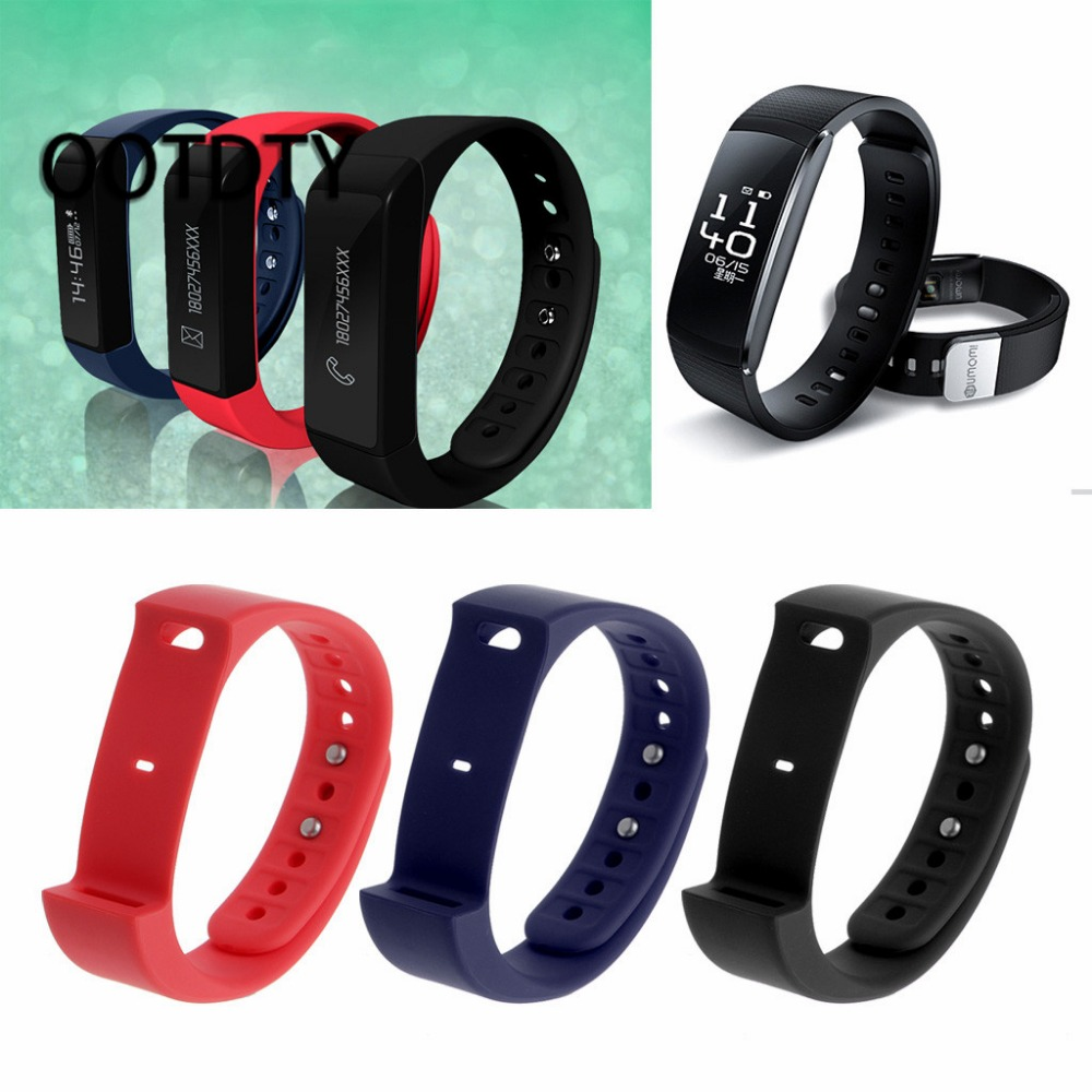1 PC Original Iwown I5 Plus Smart Black/Red/Blue Bracelet Strap Replacement Band Strap For Smartband Iwown I5 Plus Wristband