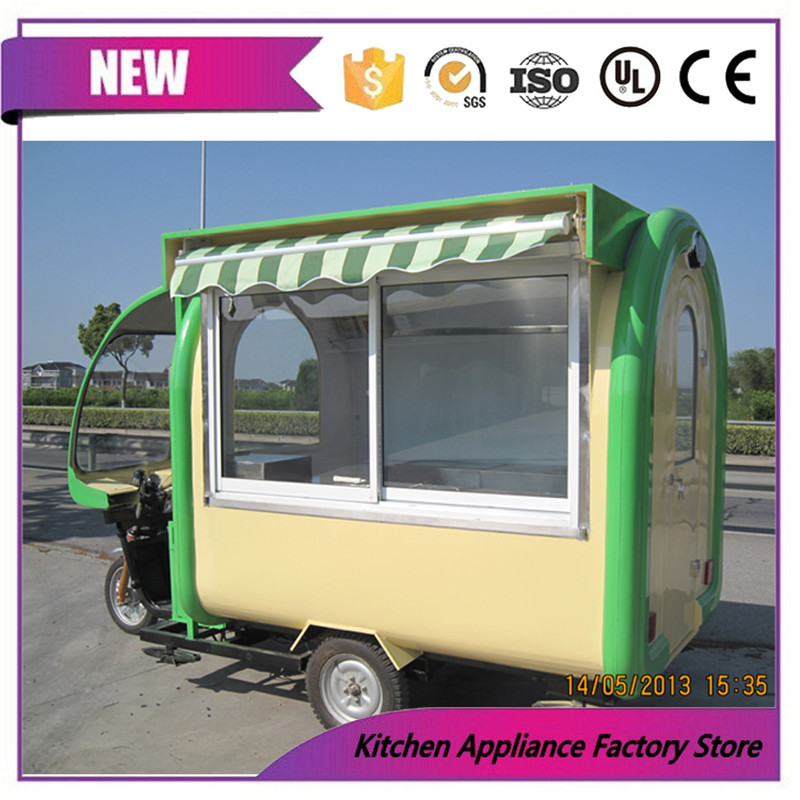 US $5600 0 |New designed mobile catering trailer/mobile food truck/mobile  restaurant food cart-in Food Processors from Home Appliances on