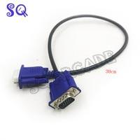 30cm HD15Pin VGA D Sub Short Video Cable Cord Male to Male M/M Male to Female and Female to Female for mini arcade Monitor