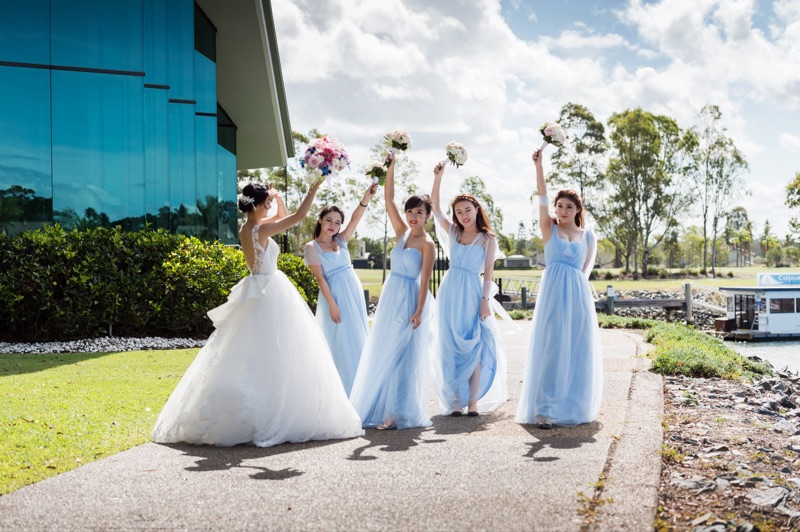 Changeable Bridesmaid dresses long design 2017 sisters dress Customize Plus  Size Color Pink Purple Mint Blue Lavender Prom Party-in Bridesmaid Dresses  from ... 81ebe1146aa2