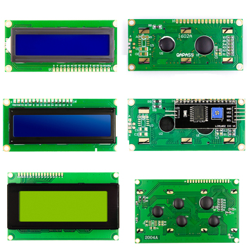 LCD1602 Blue Yellow Green Gray  Backlight IIC/I2C RGB Keypad Shield LCD2002 LCD2004 for arduino raspberry pi maker studio i2c lcd shield red