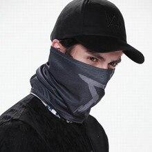 Мужская 6 панель тактическая бейсболка s Маска часы маски собак шапочка из хлопка набор костюм косплей Aiden Pearce маска для лица
