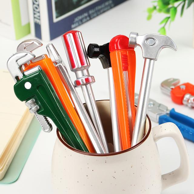Hardware Tools Creative Ballpoint Pens 6 pcs Set