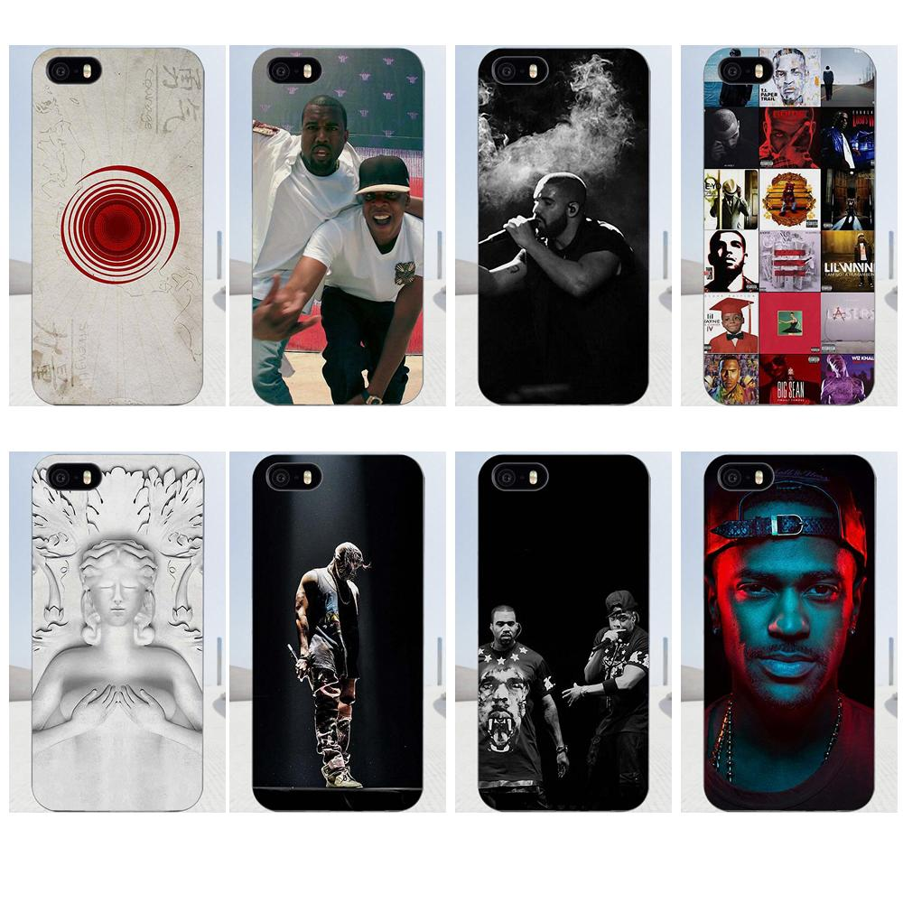 TPU Case Capa Cover Jay Z Kanye West Watch The Throne For