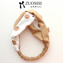 Fashion Women Headband, Dot, Color Match, Hair Band, Hair Accessories, Handmade, Thin, Cute Lovely for Summer