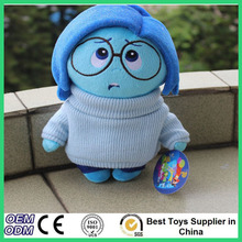 New Arriving Pixar's Movie Inside Out Stuffed Toys Joy Anger Sadness Fear Disgust Plush Dolls For Children Christmas Gifts