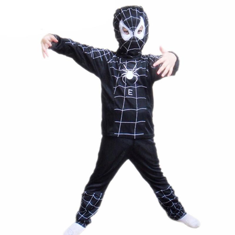 3 styles kids baby superhero spider man superman batman spiderman cosplay carnival halloween costume child accessories for kids 16