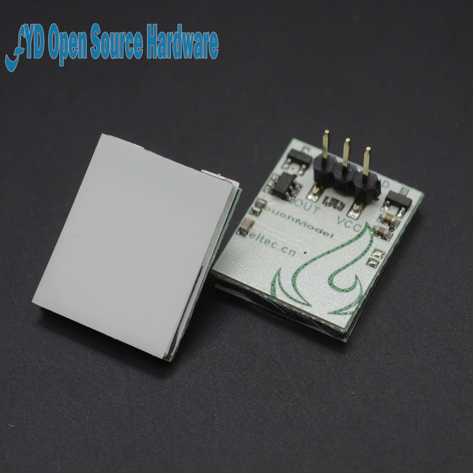 HTDS-SCR 2.7V ~ 6V Capacitive Anti-interference Touch Switch Module Yellow