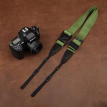 Cam-in Alça Da Câmera CS123 Minimalista Tecido De Algodão Alça De Ombro Câmera Digital SLR Corda Para Canon Nikon Sony SLR