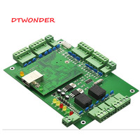 DTWONDER Access Control Board rfid Wiegand Controller TCP IP RJ45 And App Control Panel with Software DT W
