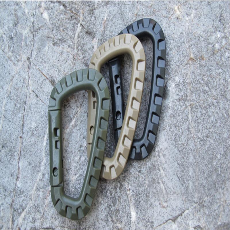 1PCs Mini Carabiner Cliping Clip Edc Tool Outdoor Camping Pajisjet - Kampimi dhe shëtitjet - Foto 5