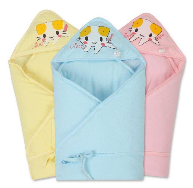 Nova algodão recém-nascidos cobertor warmswadding warmbaby cobertor de recepção cobertor envoltório do bebê cama macia 3 cores J060