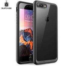 Supcase para iphone 7 plus caso (2016 de liberação) ub estilo premium fino híbrido protetor pára tpu clara capa traseira caso
