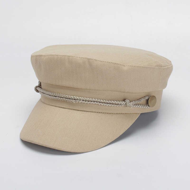 кепи картуз женский фуражка кепка 2019 женская шляпа весной и летом пару Мода Солнцезащитная шапочка, Кепка на плоской подошве Топ Для мужчин кепка газетчика британский стиль плоский Берет Hat