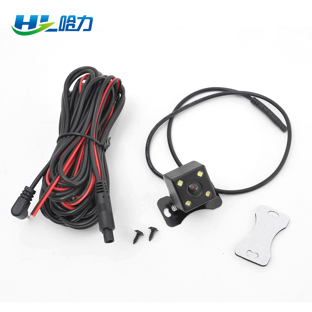 lowest price ZIQIAO Front View Side View Reverse Camera 360     Rotation HD Night Vision Waterproof Car Rear View Parking Camera
