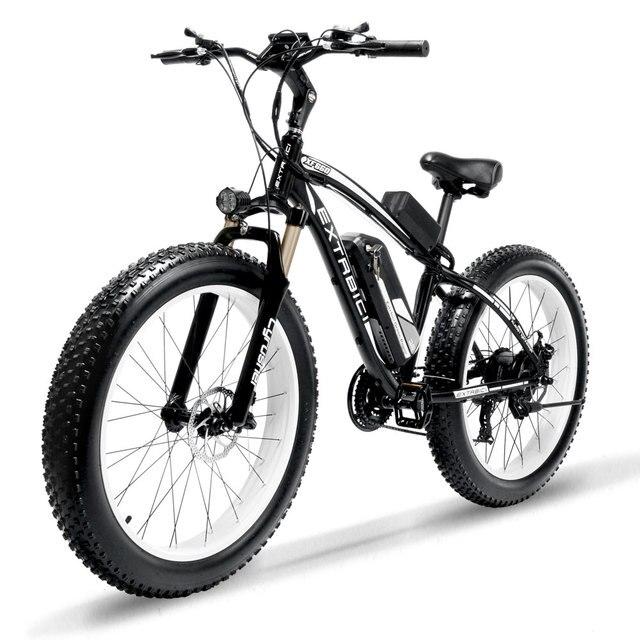 Cyrusher XF660 1000 Вт электрический велосипед с удаленным Управление шкафчик регулируемый руль жир шин e-велосипед 21 скорость Электрический велосипед