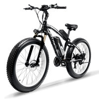 Cyrusher XF660 1000W Electric Bike with Remote Control Locker Adjustable Handlebar Fat Tire e bike 21 Speeds Electric Bicycle