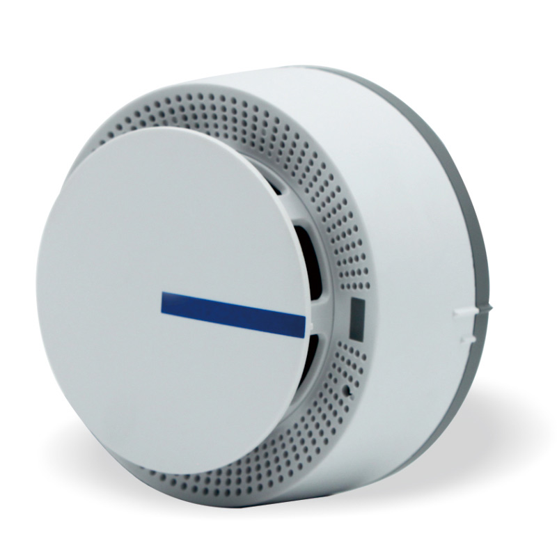 Stable Wireless Battery Powered Fire Protection Easy Installation Smoke Detector Alarm Sensors For Home Security Alarm System