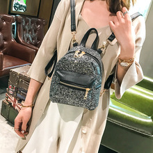 Luxury Shiny Sequined Women's Backpack