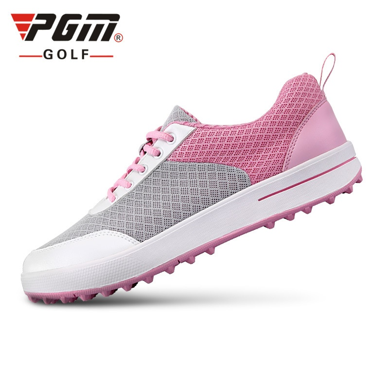 2017 New PGM Golf Shoes Women Ultra-Light Breathable Mesh Women Sports Shoes Non-Slip Girls Golf Shoes 35-39
