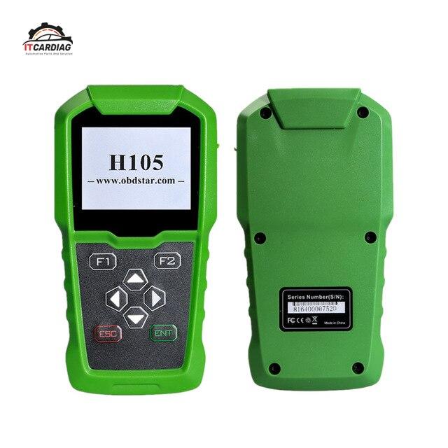 OBDSTAR H105 H-yundai/Kia Auto Schlüssel Programmierer Unterstützung Alle Serie Modelle Pin-Code Lesen Cluster Kalibrieren