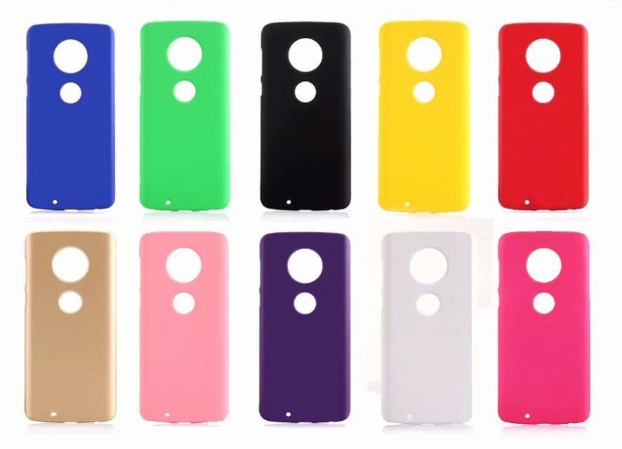 Slim Rubberized Hard Cover Case For Motorola MOTO G6 Z2 X4 E4 G5 G5S plus C M G4 play X G3 X3 E G Frosted Matte Cover Case